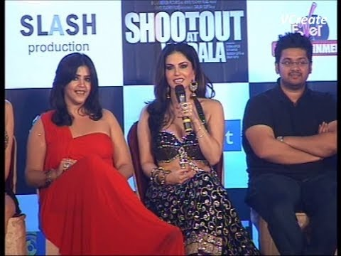sunny leone considers herself lucky to be a part of shootout at wadala.