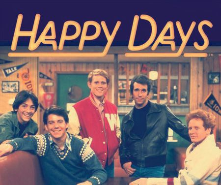 """""""Happy Days ('74- '84) including Ron Howard as Richie Cunningham. A guy at school  thought he was The Fonz. Most people thought he was a dick. Sadly life does not always imitate TV"""" Richard Ambrose"""