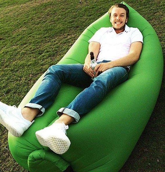 Beach Portable Outdoor Air Bed Inflatable Hammock Sleeping Bag