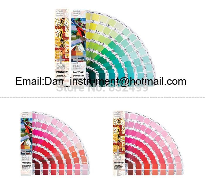 255.00$  Buy here - http://aligl4.worldwells.pw/go.php?t=32634366088 - Pantone Color Bridge Coated and Uncoated Paper Color Guide GP6102