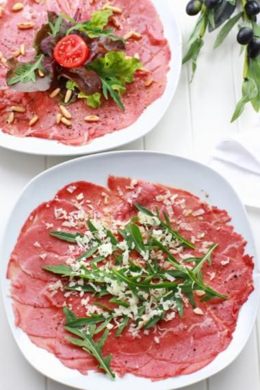 Recept voor rundscarpaccio | njam!