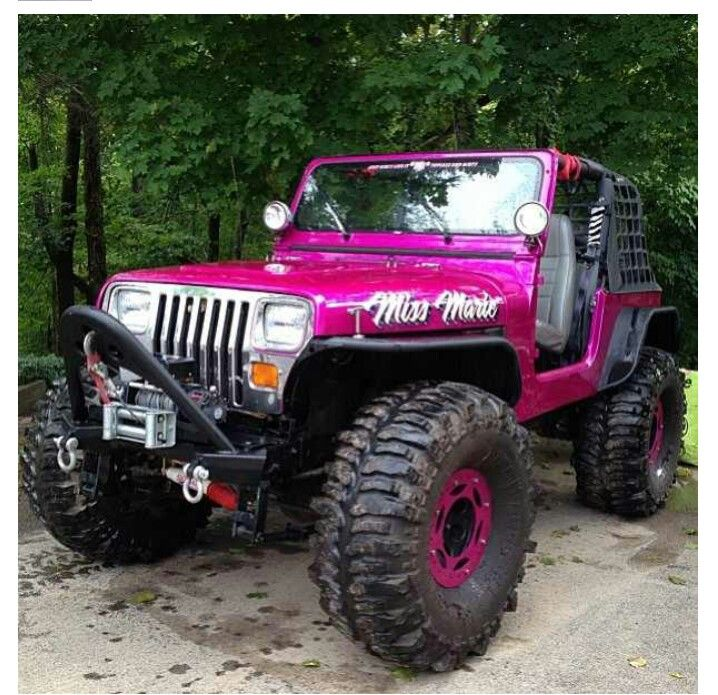 magenta Jeep