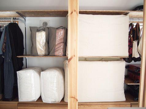 劇的夏チェンAFTER~!その1(クローゼット収納)|三鷹の家大使の ... ベットの下とかクローゼットの中とか、お客さんひとりが来た時に色々な場所をあけないと布団が用意できず不便だった布団収納がひとまとまりに。