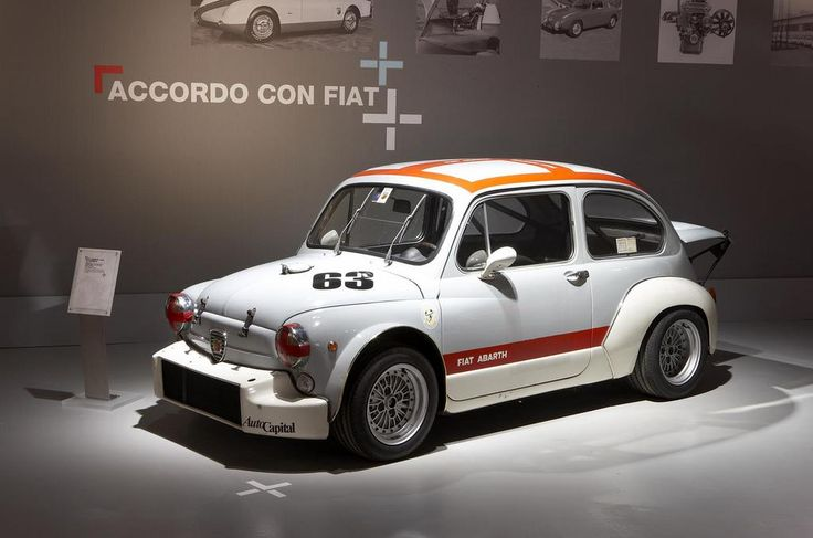 Fiat Abarth 1000TCR.