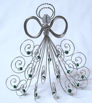 ~ Wire Angel ~ Now to figure them out & make one or more....