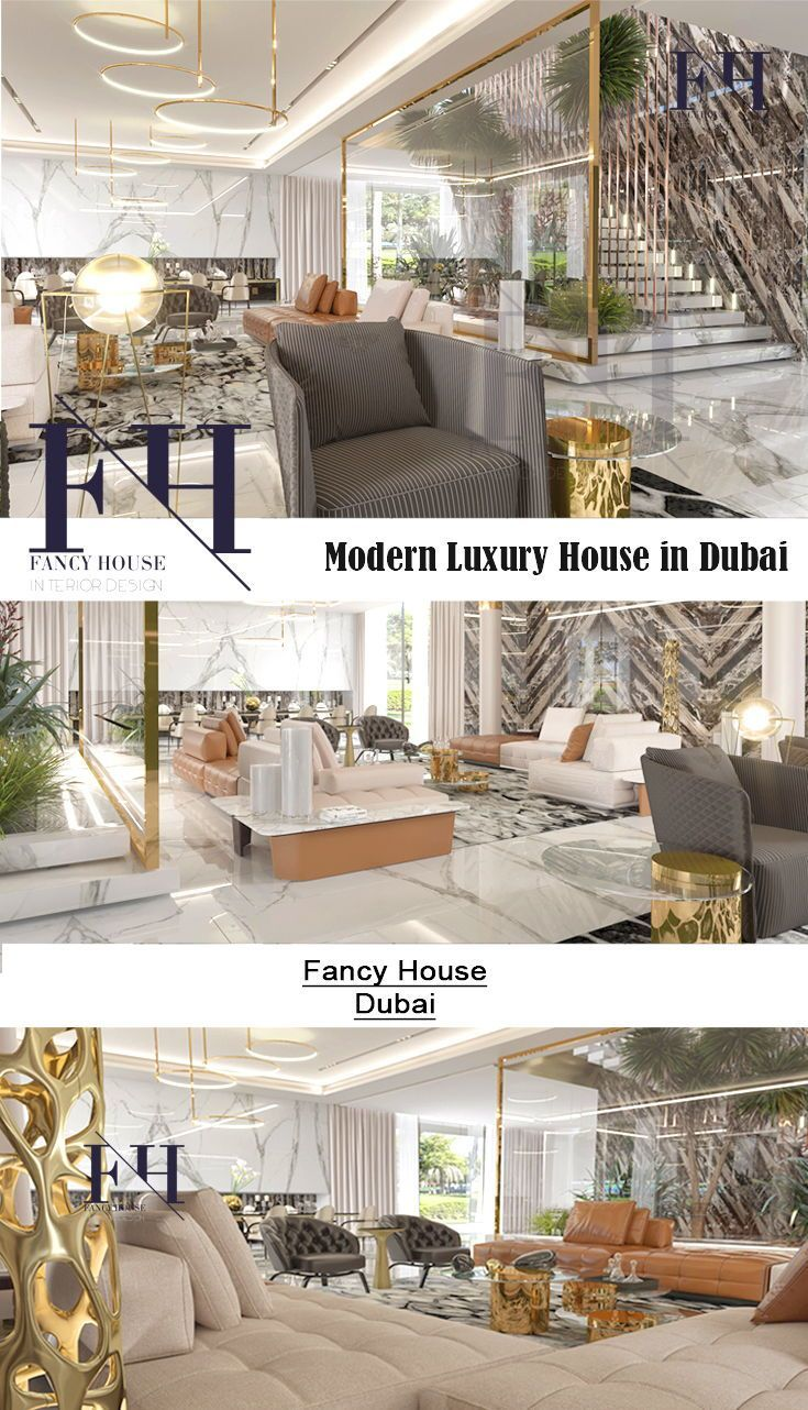 modern interior d cor for dubai house in white style the interior rh pinterest com