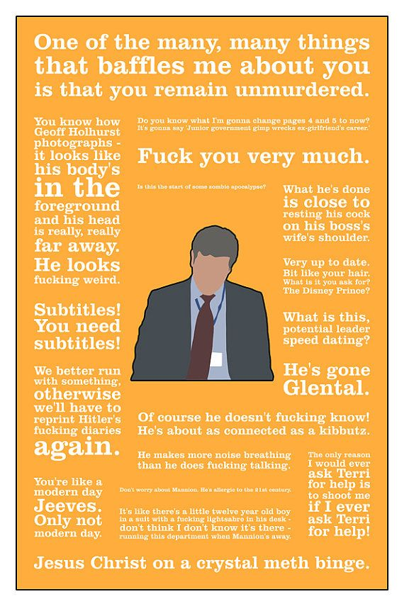 The Thick of It alternative television poster 12 by britishindie