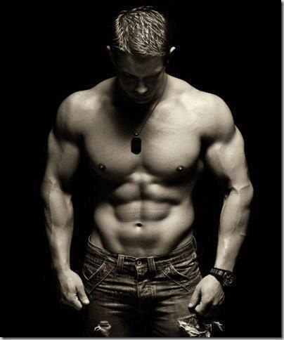 I have no idea who this beautifully built man is, but he is a perfect muse for me hero in my WIP short story.  Great to look at for inspiration when your on a deadline! =)
