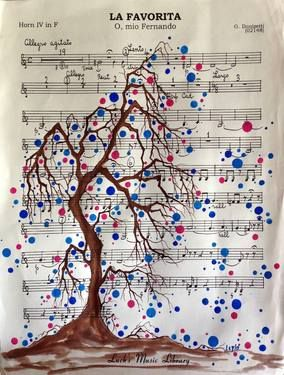 "Saatchi Art Artist Leyla Özlüoğlu; Painting, ""la favorita"" #art #art #illustration #drawing #draw #oldpaper #picture #artist #sketch #sketchbook #paper #pen #pencil #artsy #beautiful #book #gallery #musicpaper #creative #photooftheday #graphic #graphics #artoftheday #vintage"
