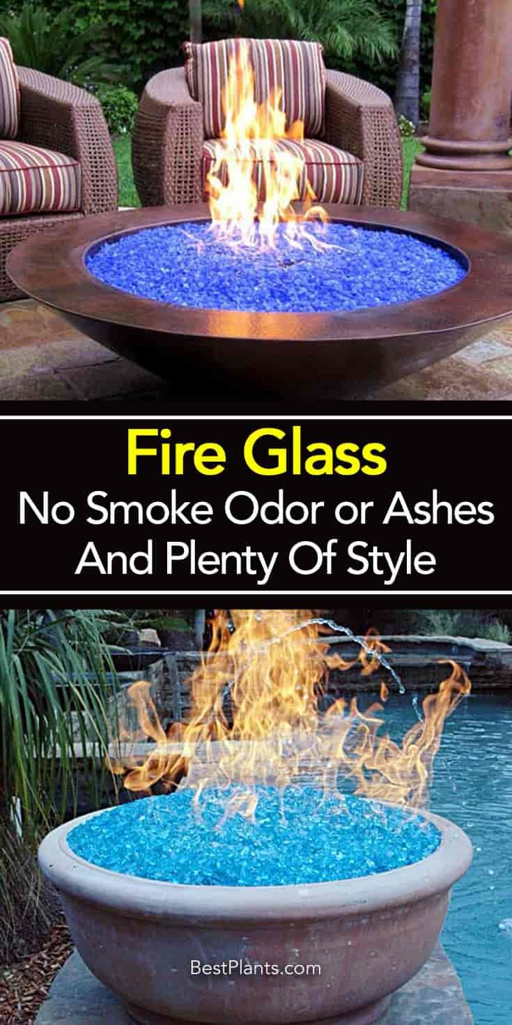Fire Glass Composed Of Small Bits Of Basic Tempered Glass