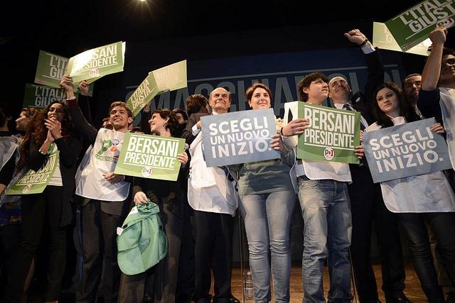 Bersani 2013 - Partito Democratico - Political Rally
