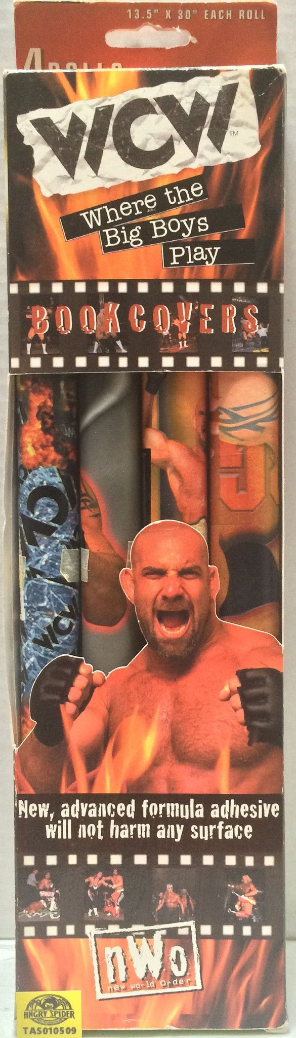 (TAS010509) - 1999 WCW Wrestling Book Covers - Goldberg