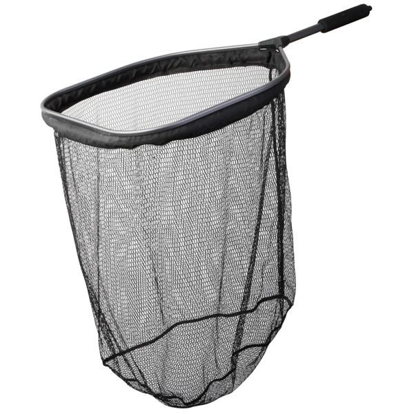 Scierra Coastal Floating Net is made with a triangular aluminium frame for great strength and a Shake n' Dry mesh that lets you dry the net in one swoop. #scierra #fishingnet #floatingnet #flyfishing #fishing