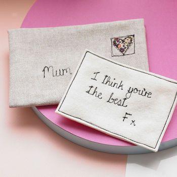 Personalised Love Note