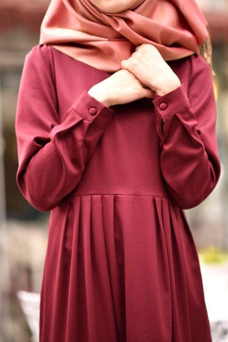 Morfistan 5 Pileli Tesettür Elbise