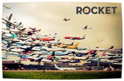 Todos los días se realizan más de 30.000 vuelos alrededor del mundo!!! ¿Qué esperas para empezar a organizarte con ROCKET y conocer ese rincón del planeta que siempre has querido? www.rocket.com.co