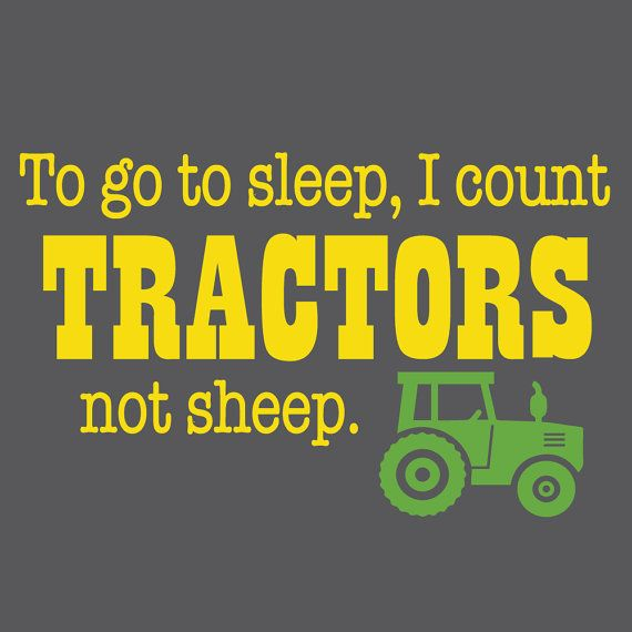 Wall Decals Wall Decal John Deere Tractors Tractor by luxeloft