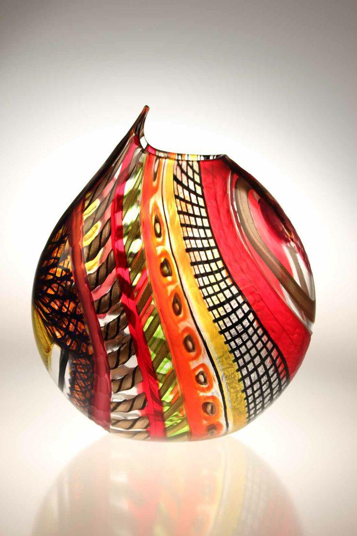 Murano Glass Studio Vase Notabilioso 6 New 2014 Murano