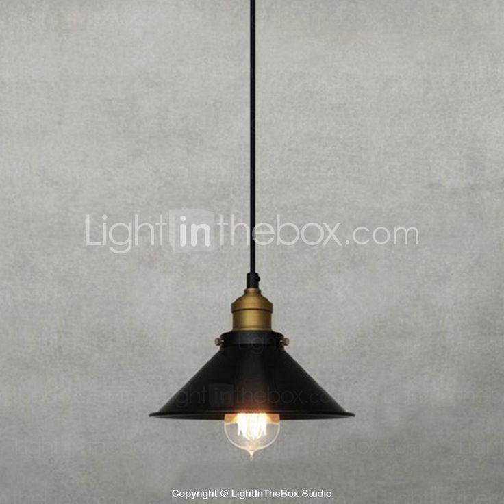 [XmasSale]Ретро 60W свет подвеска с металлическим Umbrella Shade в старинном стиле фабрика - RUB p. 3 516,30