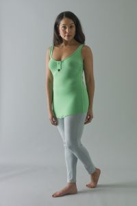 The Kali legging bottoms £44 are the leggings that accompany the collection of tops.  Mirroring the rest of the collection they are not just conventional leggings but intelligently cut and forgiving where needed, with the addition of doubled fabric and panels at front and back to give beautiful shape which offers supreme support and comfort whilst figure enhancing.