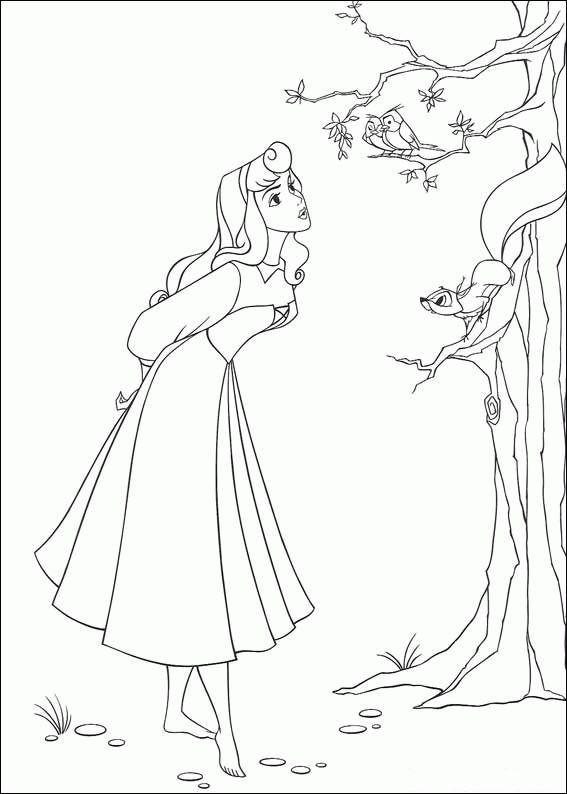 Atemberaubend Disney Princess Aurora Malvorlagen Ideen - Framing ...