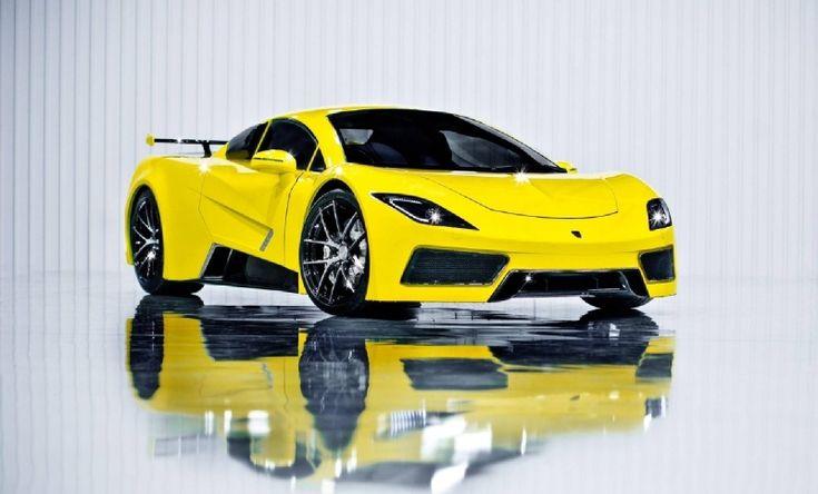 Aktuality | Arash AF8! Mocný supersport z britské stáje | Trendy Cars - moderní luxusní auta