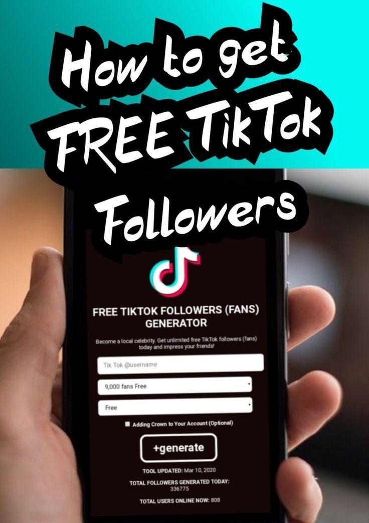How To Get Free Tiktok Followers 2020 Free Followers How To Get Famous How To Get Followers