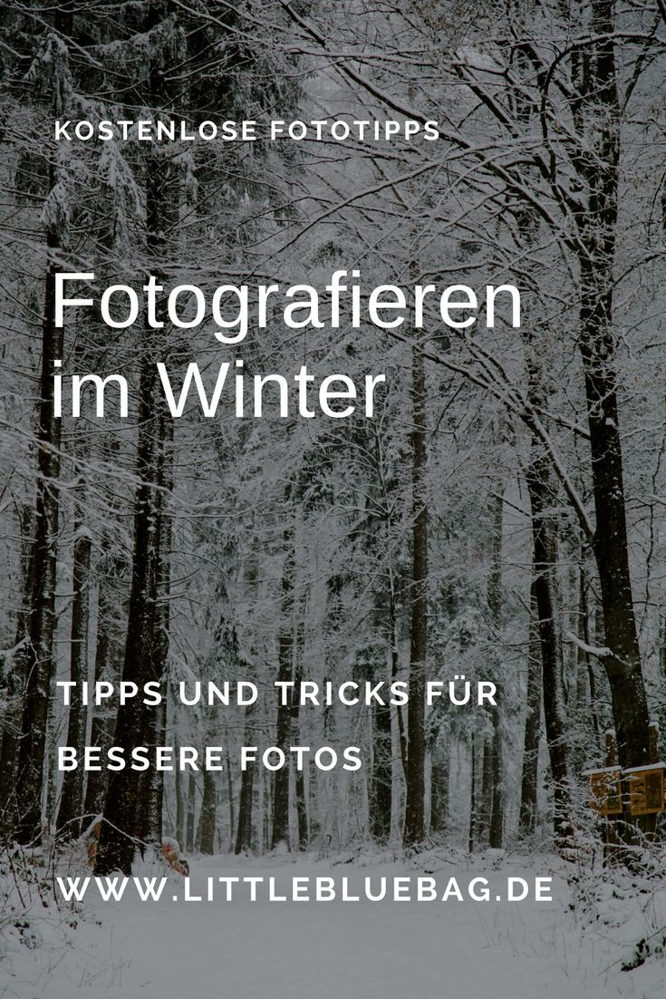 Fotografieren im Winter | Fotografie | Photography ...