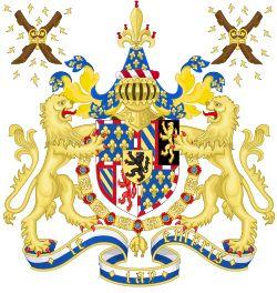 Duke of Burgundy - Coat of arms of the Duke of Burgundy (1430–1482)