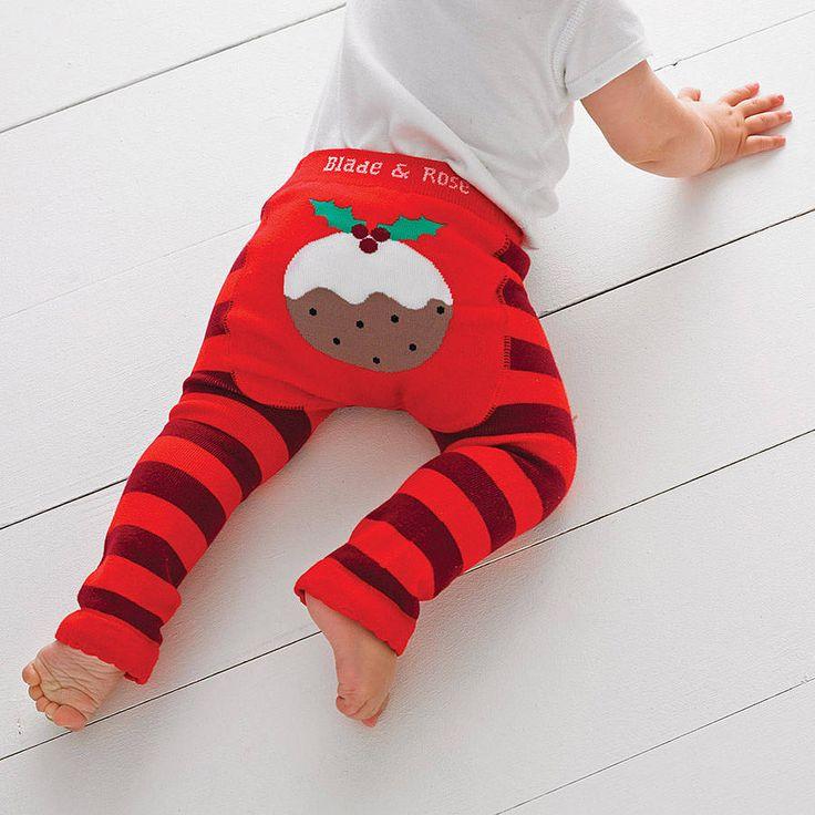 Christmas Pudding Leggings
