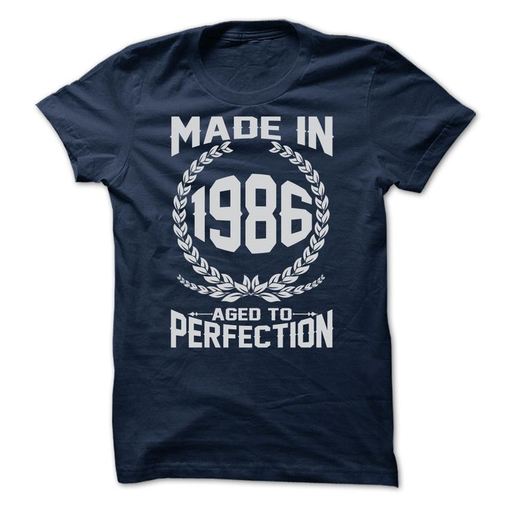 MADE IN 1986 - Limited Edition T Shirt, Hoodie, Sweatshirt