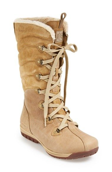 Free shipping and returns on Helly Hansen 'Skuld 4' Waterproof Boot (Women) at Nordstrom.com. Waterproof leather and suede mold a contoured winter boot outfitted with a Helly Grip™ sole for maximum traction in slippery weather.