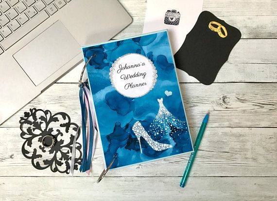 Personalised Wedding Organizer Custom Planner Book