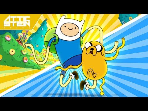 ADVENTURE TIME THEME SONG REMIX [PROD. BY ATTIC STEIN] - YouTube