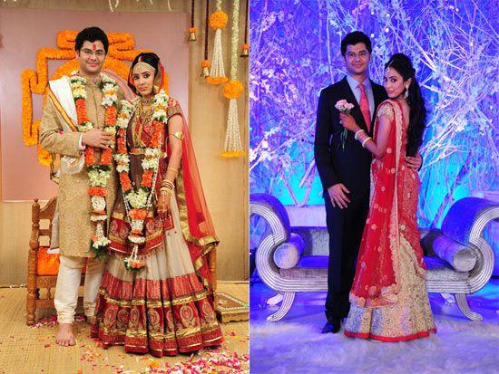 WeddingSutra Editors' Blog » Blog Archive » A Grand Gujarati and South Indian Wedding in South Mumbai