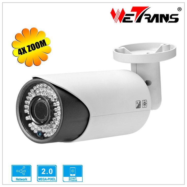 IP Camera CCTV 4X Optical Auto Focus 1080P Full HD Onvif H.264 SONY CMOS 60m Night Vision Kamera TR-IP20DR750Z Zoom IP Camera