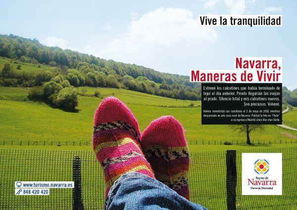 Turismo Navarra, campaña NUEVAS MANERAS DE VIVIR