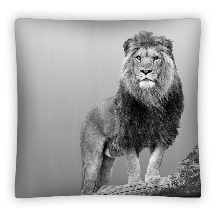 Dziecięca poszewka na poduszkę z lwem