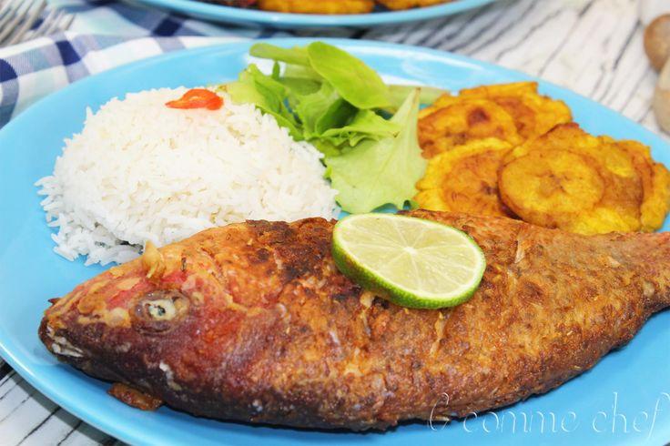 Poisson frit à la dominicaine
