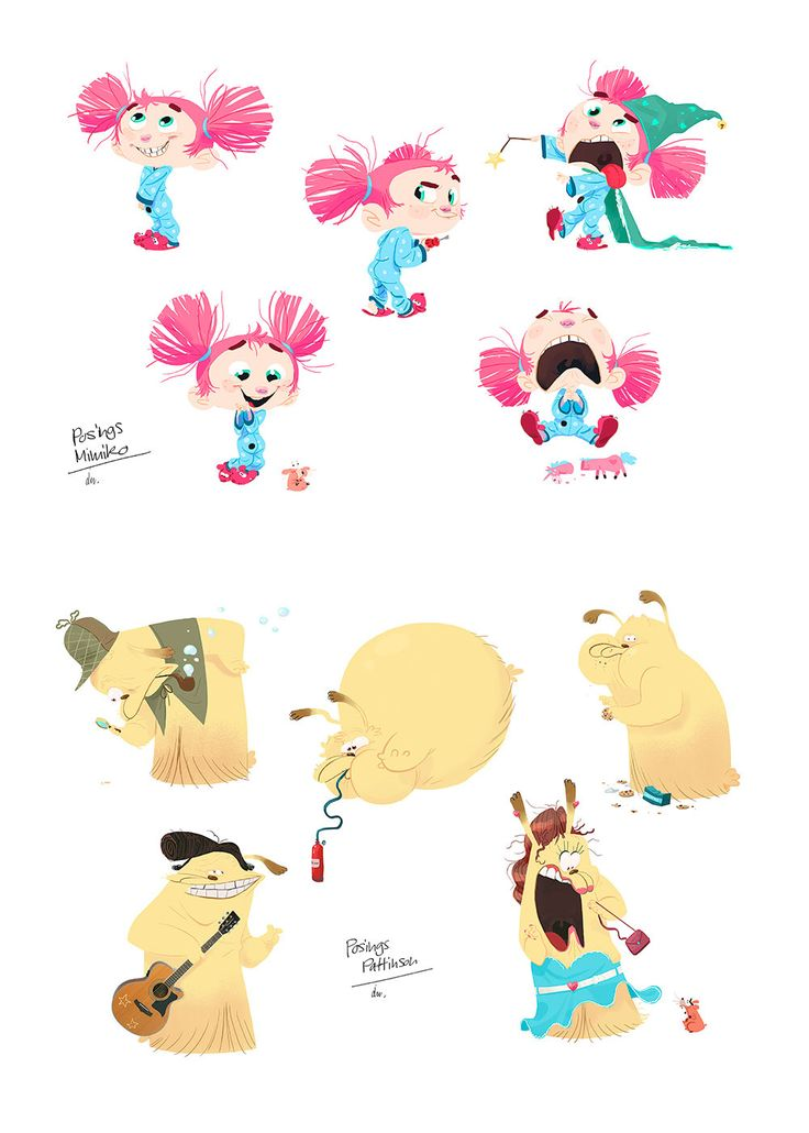 2d Character Design Books : Novos trabalhos do artista julien rossire thecab the