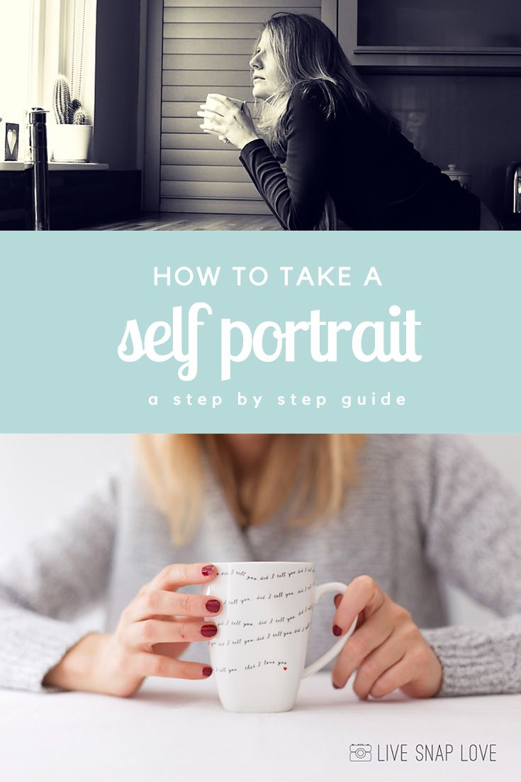 Some great tips on how to take a good self portrait that doesn't look like your typical selfie.