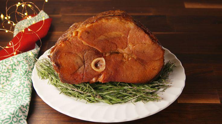 Crock-Pot Christmas Ham  - Delish.com