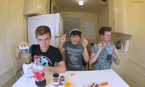 I love this gif connor, jc, and ricky (: