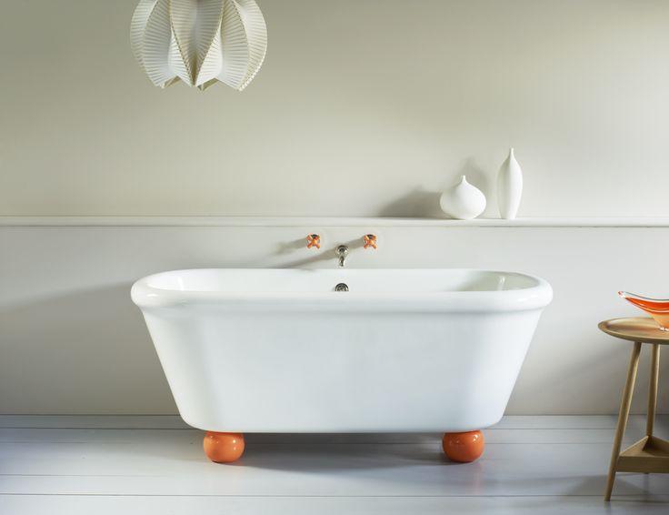 #bath #orange #bathroom #watermonopoly