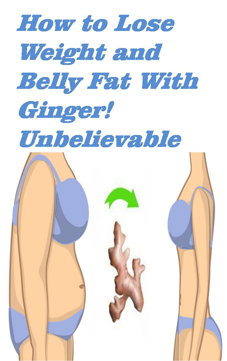 How to Lose Weight and Belly Fat With Ginger! Unbelievable