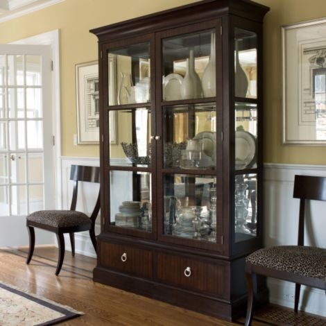 50 best china cabinet images on pinterest china cabinets for Modern china cabinet display ideas