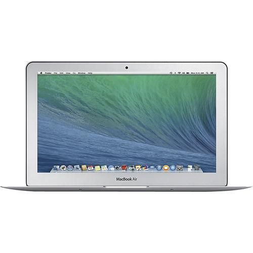 "Apple® - MacBook Air® (Latest Model) - 11.6"" Display - Intel Core i5 - 4GB Memory - 128GB Flash Storage - Larger Front"