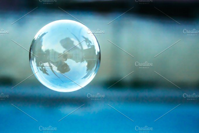 Blue bubble by MHauruk on @creativemarket