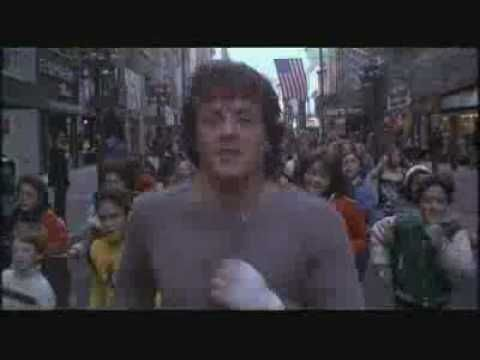 ROCKY II TRAINING. Best Movie Scene of all time. HANDS DOWN.