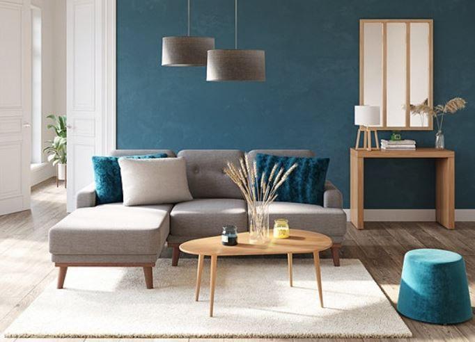 salon bleu canard 15 inspirations